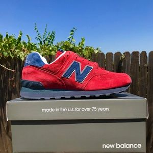 Made in USA New Balance 574 Classics Men's Shoes